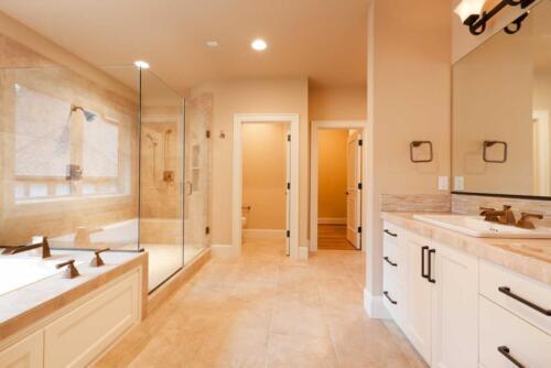 Large expensive master bathroom